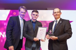 Conor Naughton wins Young Achiever